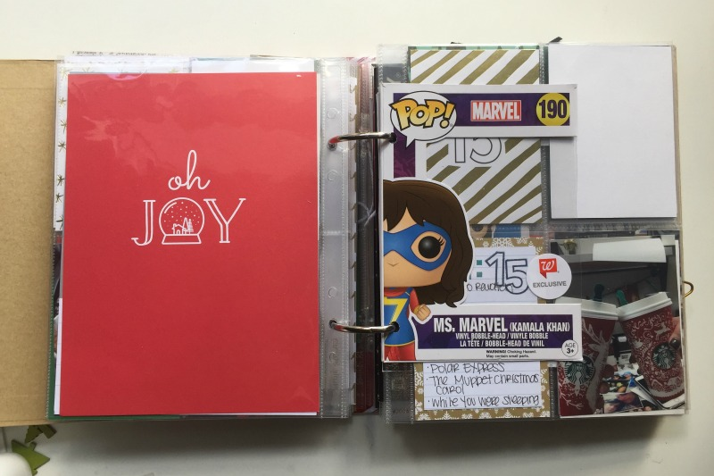 December Daily and 30 Days of Lists - Include Toy Packaging in Your Albums