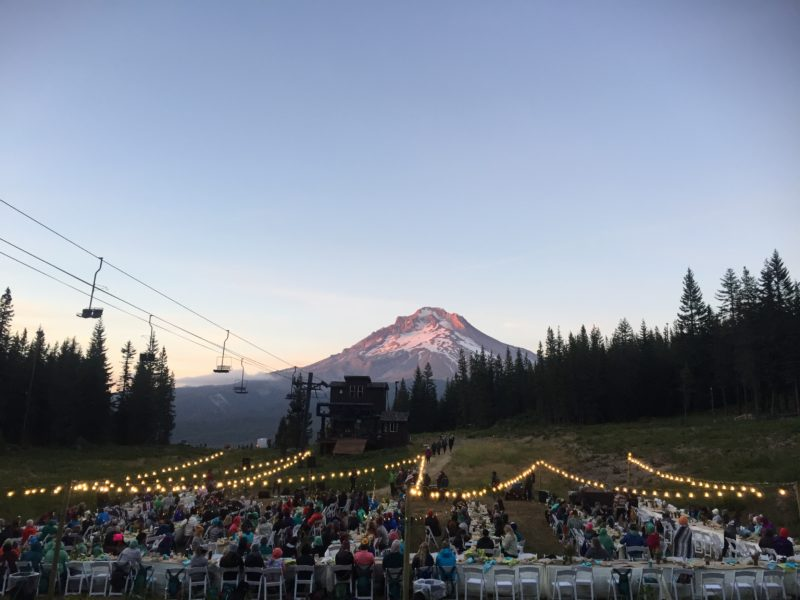 Outessa Mt Hood - Dinner with a view