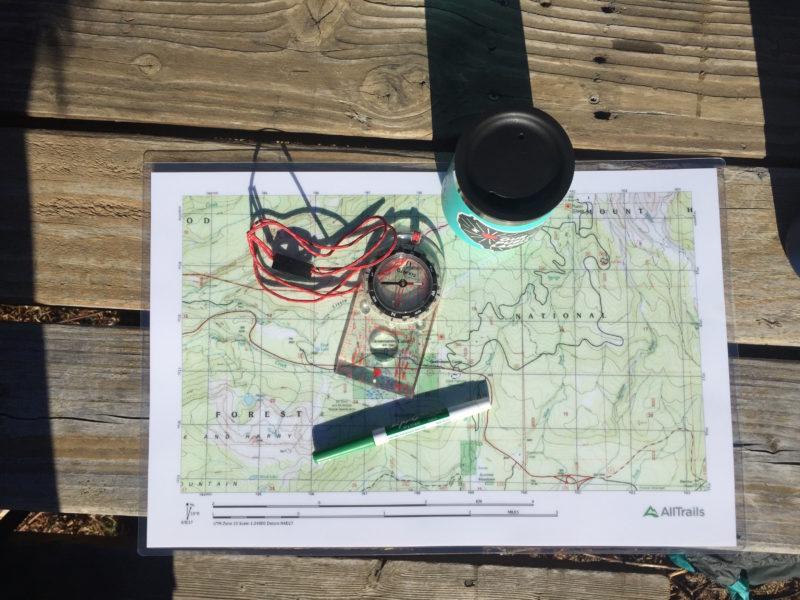 Outessa Mt Hood - Navigation Class