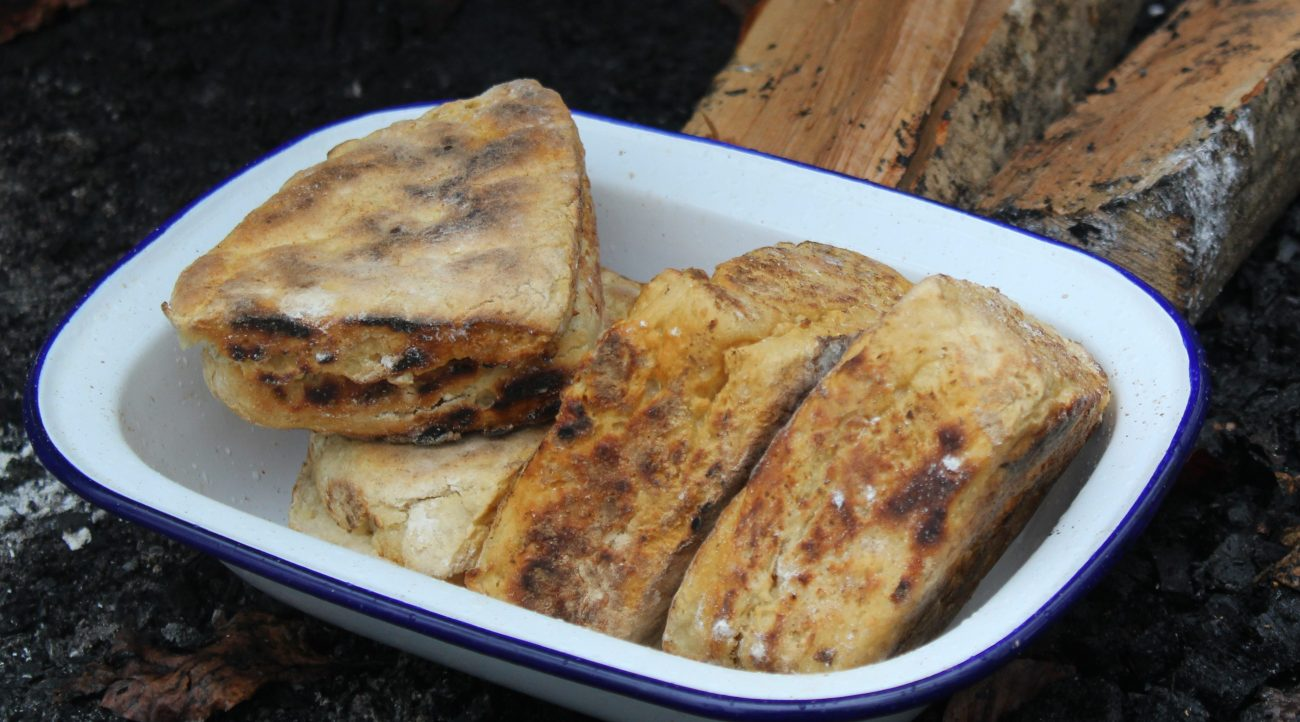 Traditional freshly-made Irish Soda Bread