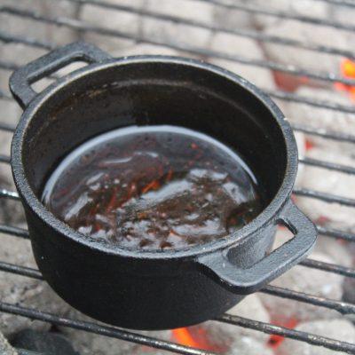 Korean BBQ Sauce in a mini Dutch Oven