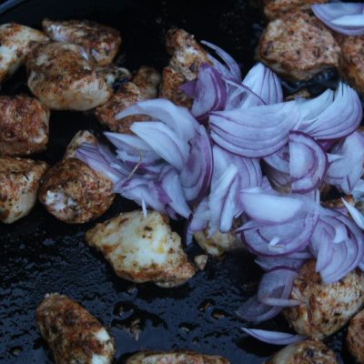 Add the onion
