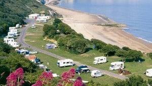 Folkestone campsite
