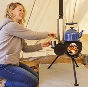 Anevay Frontier wood-burning camping stove Campfire Magazine
