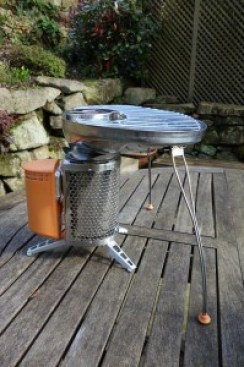 Biolite with grill