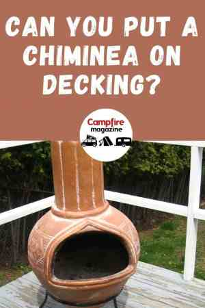 Can You Put a Chiminea On Decking? (Will It Effect The Wood)