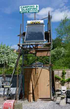 Enneywevers' solar station