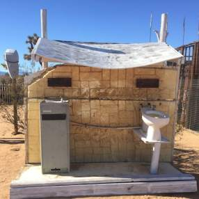 Not your usual toilet block