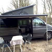 Ditchin' the kitchen...why we chose a VW Beach campervan