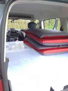 Berlingo mini campervan