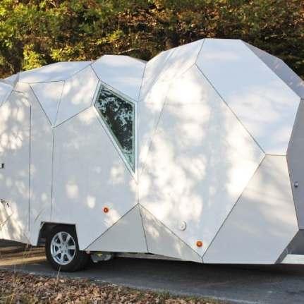 Mehrzeller trailer camper