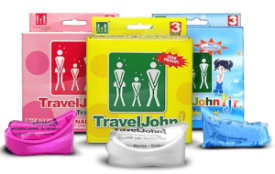 Travel john urinals