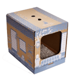 Poopy cat litter box