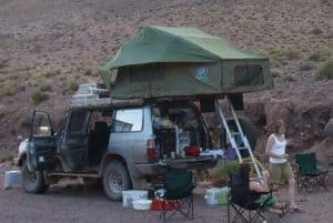 Roof tent & Roof tents u2013 camping kit for masochists or a perfect penthouse ...