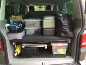 Packing a VW California Beach campervan