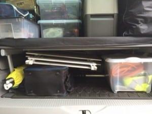 Packing a VW California Beach campervan