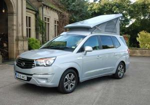 Ssangyong turismo tourist campervan