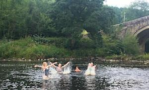 Swimming in the Wharfe