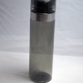 Kingfisher- Bulk Custom Printed 27oz Clear Cylinder Vortex Hydration Bottle