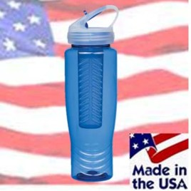 Cuscus- Bulk Custom Printed American Made Water Bottle With Fruit Infuser