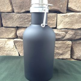 Bulk Custom Printed 32oz Stainless Steel Beer Growler with European Flip-lid