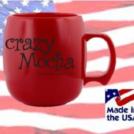 Mouse- Bulk Custom Printed 10.5oz NatureAd Corn Mug Made in the USA