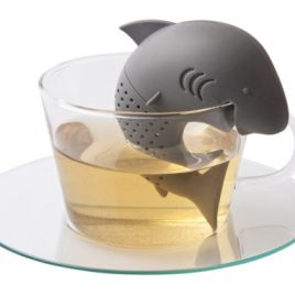 Shark Teath- Bulk Custom Printed Shark Shaped Silicone Tea Infuser