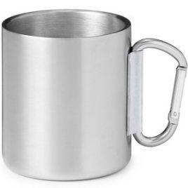 Scout- Bulk Custom Printed 10oz Stainless Steel Camping Carabiner Mug