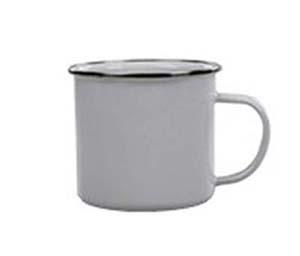 mountain mug white