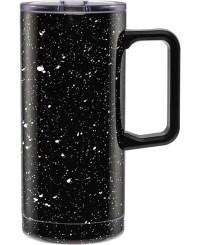 Barn Owl- Bulk Custom Printed 18oz Speckled Stainless Steel Mug