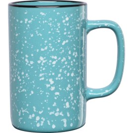 Bulk Custom Printed 18oz Ceramic Speckled Glaze Camp Mug