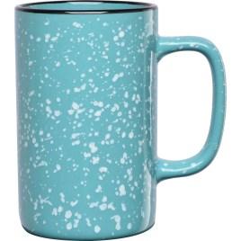 Bulk Custom Printed 18oz Ceramic Speckled Glaze Camp Mug