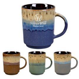 Cottonwood- Bulk Custom Printed 16oz Rustic Ceramic Mug