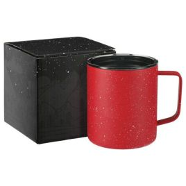 Wanderer-Custom Bulk 14oz Speckled Copper Insulated Handled Mug