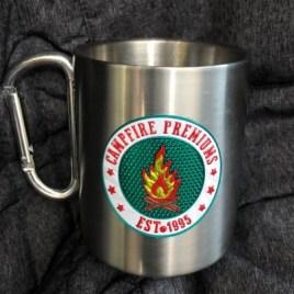 Scout- Bulk Custom 3D Printed 10oz Stainless Steel Camping Carabiner Mug