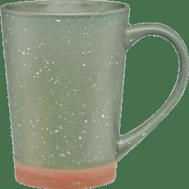Bulk Custom Printed 16oz Speckled Mug with Terracotta Bottom