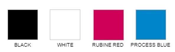standard print colors