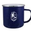 Geneseo Mug- Bulk Custom Printed 17oz Speckled Two Tone Enameled Steel Cup with Stainless Rim