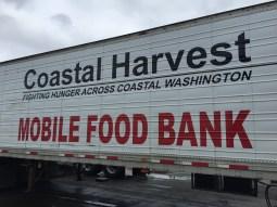 Coastal Harvest Mobile Food Bank Truck