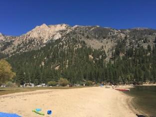 Twin Lakes beach access