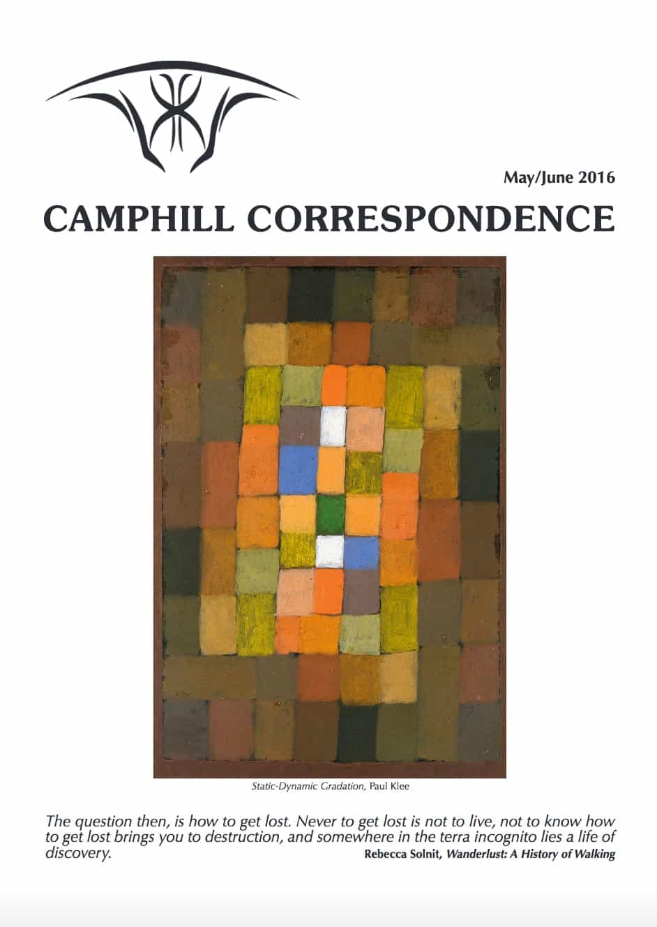 Camphill Correspondence May/June 2016
