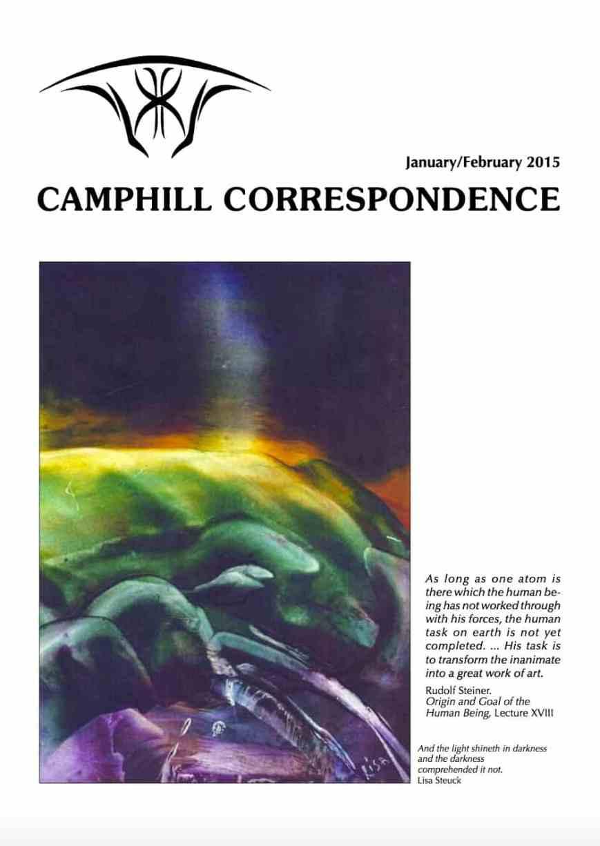 Camphill Correspondence January/February 2015