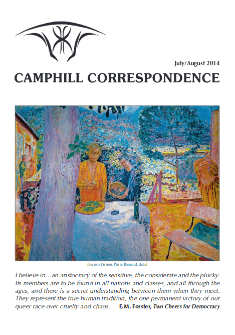 Camphill Correspondence July/August 2014