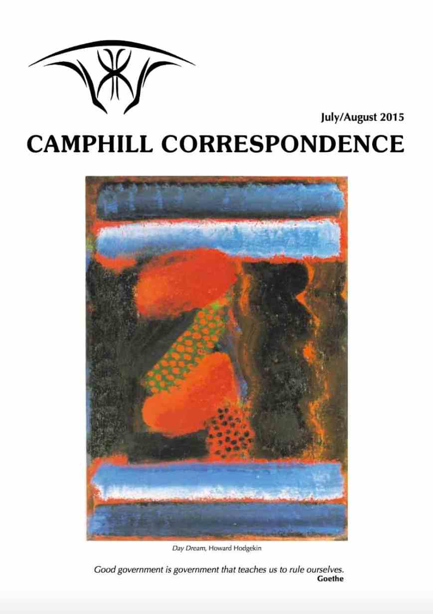 Camphill Correspondence July/Augustl 2015