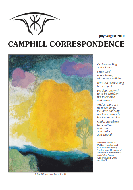 Camphill Correspondence July/August 2010