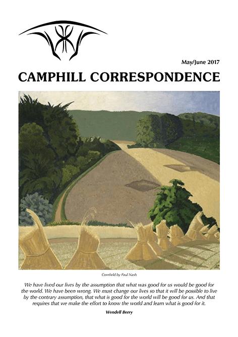 Camphill Correspondence May/June 2017