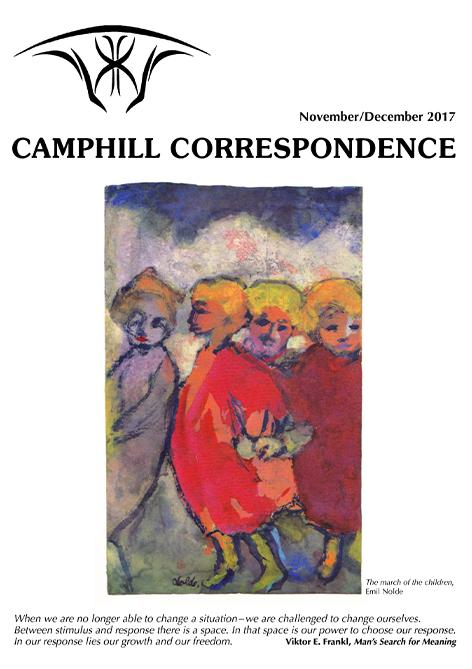 Camphill Correspondence  November/December 2017