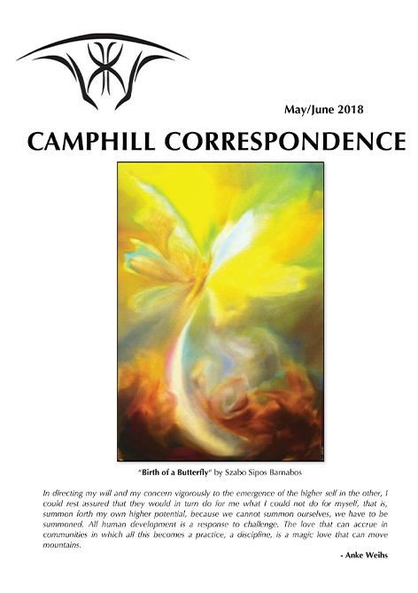 Camphill Correspondence May/June 2018