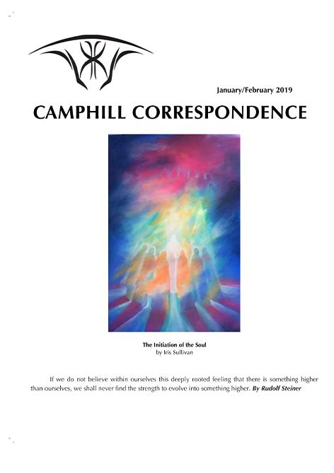Camphill Correspondence January/February 2019
