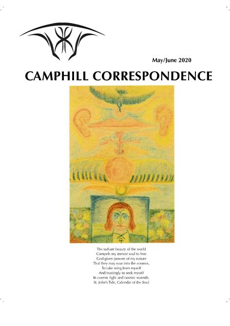Camphill Correspondence May/June 2020